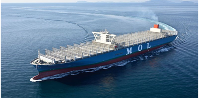 20000TEU CONTAINER CARRIER JOINS FLEET