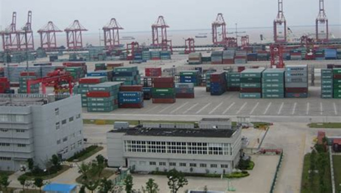 Taicang port perfected the shipping route network