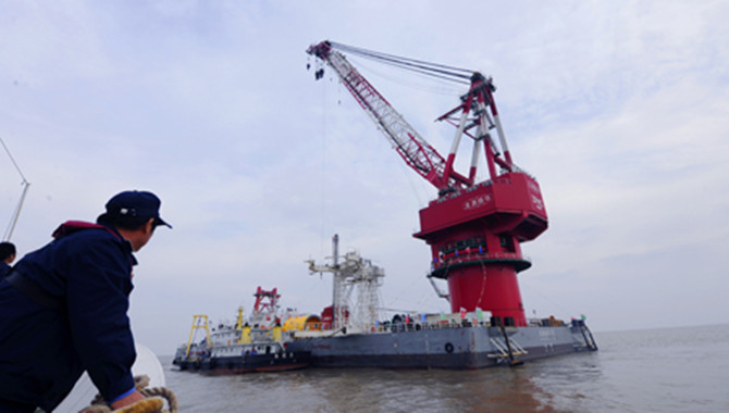 World's largest offshore wind platform delivered in