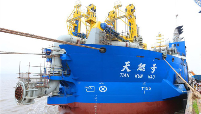Asia's largest dredging vessel to start trial voyag