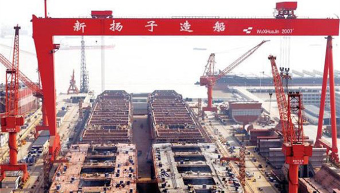 Yangzijiang clinches orders for nine new vessels in