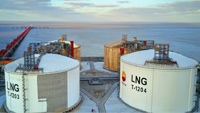 China LNG price jumps 11.1% in mid-Jul