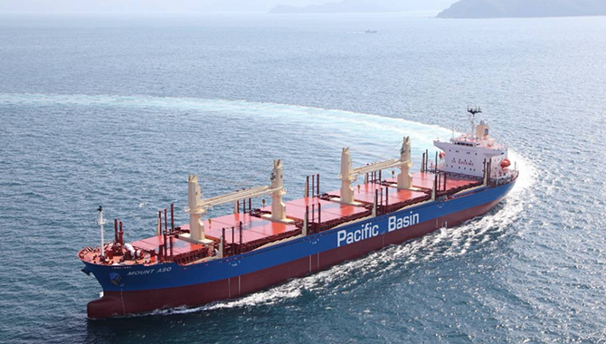 Pacific Basin Shipping Back in the Black