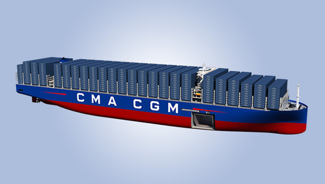 World's largest container vessels under constructio