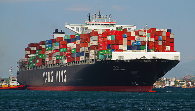 Yang Ming launches new 14,000-TEU boxship 'YM Wellb
