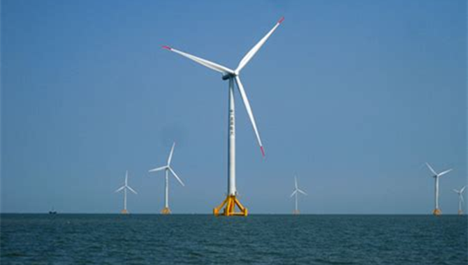 Staff contributes to China's wind power development