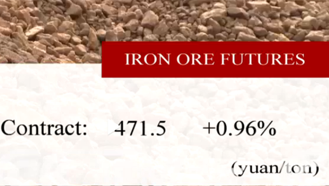 China's iron ore futures close higher Wednesday