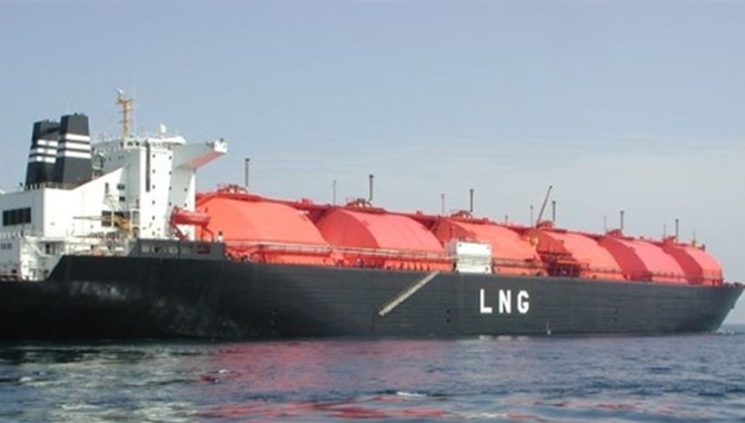 LNG is the ideal 'transition fuel'