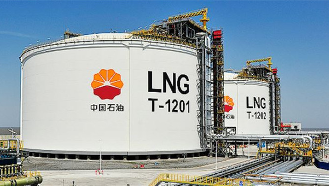 PetroChina's terminals receive record amount of LNG