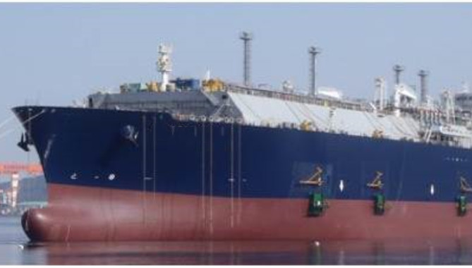 China's latest LNG carrier delivered in Shanghai