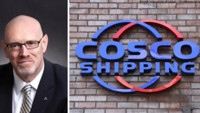 COSCO's Finkel: Low rates make alliances necessary
