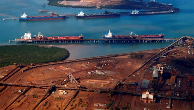 Chinese steel, iron ore rise on trade deal hopes