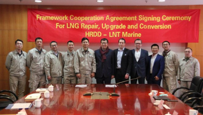 LNT Marine,Huarun Dadong Dockyard team up on LNG sh