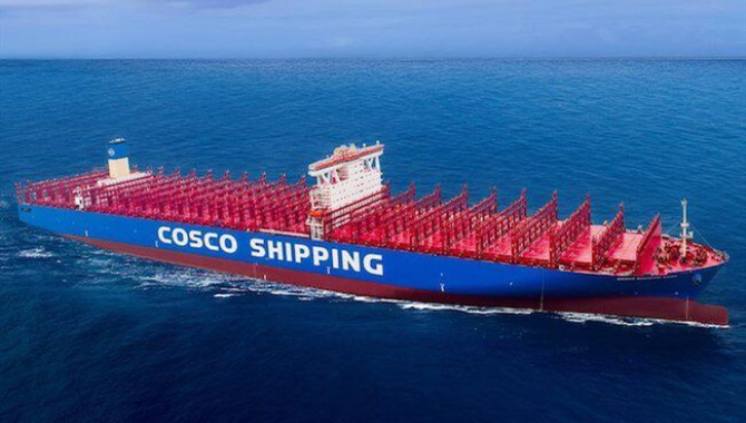 Cosco warns industry outlook faces risks as profit