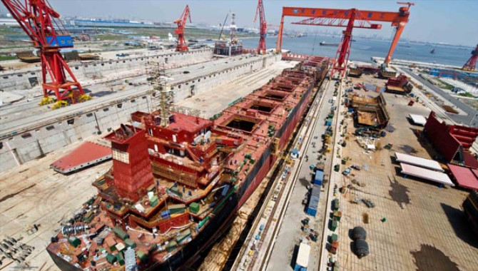 Shipyard in east China grows to industry giant