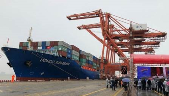 Xiamen Port sees steady growth in container through