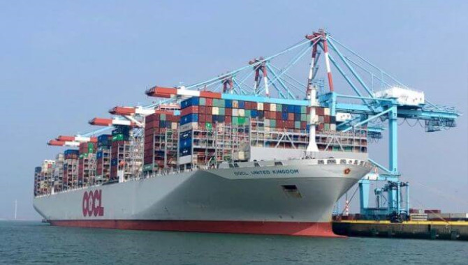 Largest Container Ship Sets New Record At Port Of Z