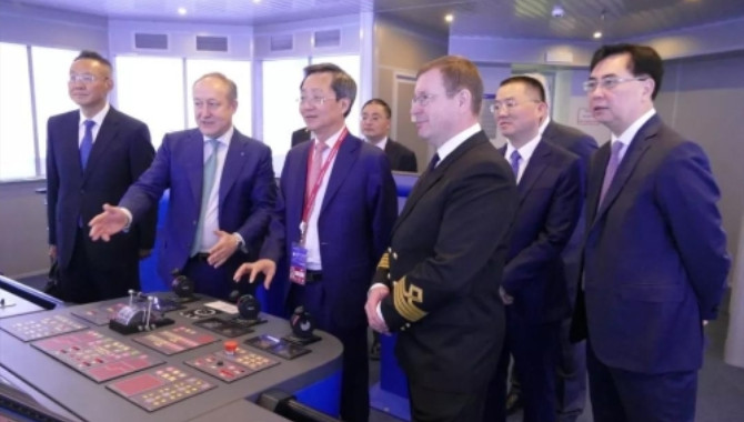 COSCO SHIPPING Attended the SPIEF