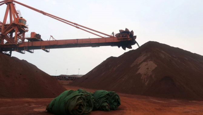 China iron ore surges on supply concerns,strong d