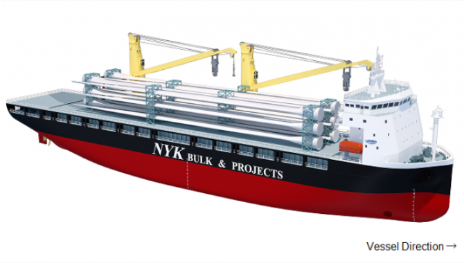 NYK orders heavylift vessels from Jinling Shipyard