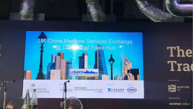 Uk-China Maritime service excha