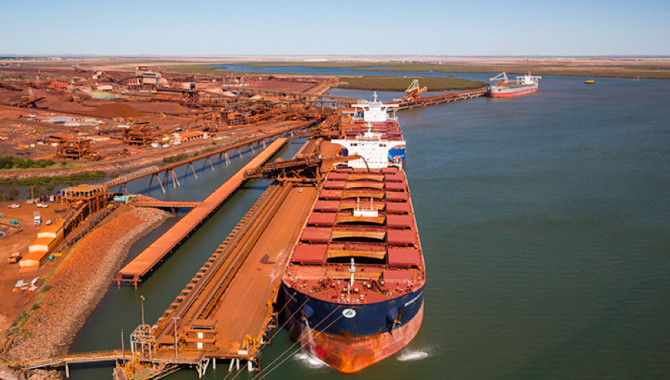 Iron ore arrivals at Chinese ports rebound from pre