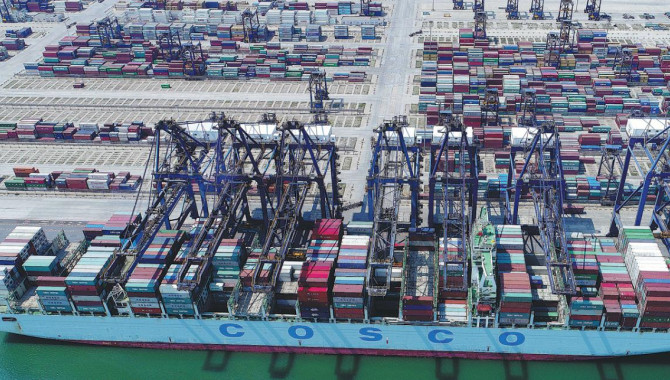 China's cargo throughput at ports up 8% in Jan-Oct