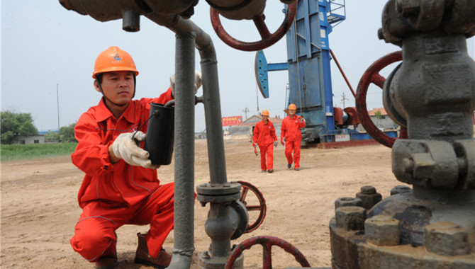 China's crude oil output up 0.3 pct in October