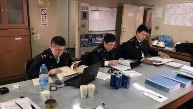 Qingdao MSA investigates and punishes the first ove