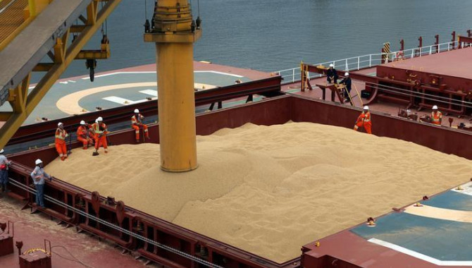 China bought 3 million mt of Brazilian soybeans in