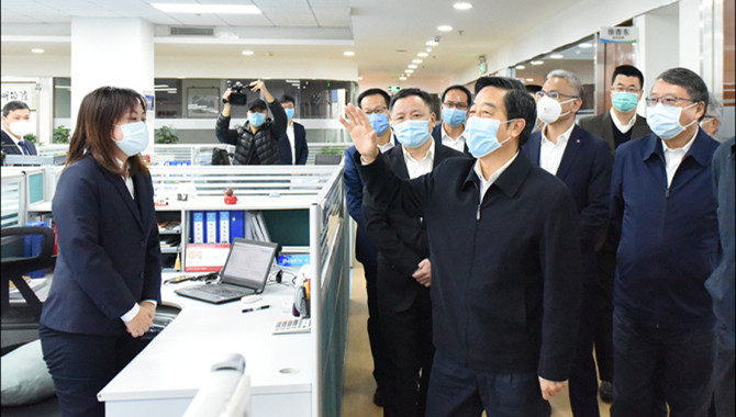 Group Chairman Li Jianhong Inspects China Merchants