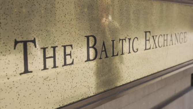 Baltic index down on lower capesize, supramax vesse