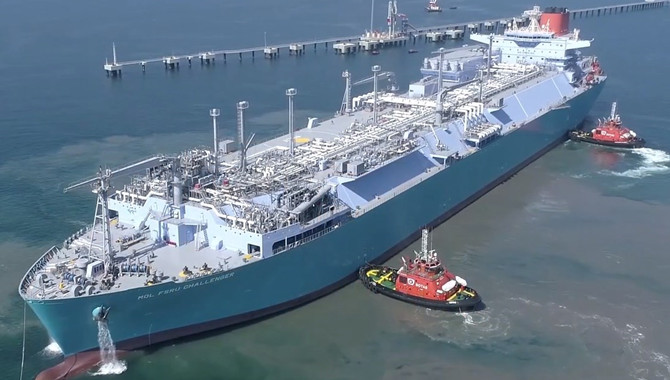 The construction of Hong Kong LNG terminal will be