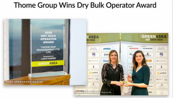 Thome Group wins Dry Bulk Operator Award