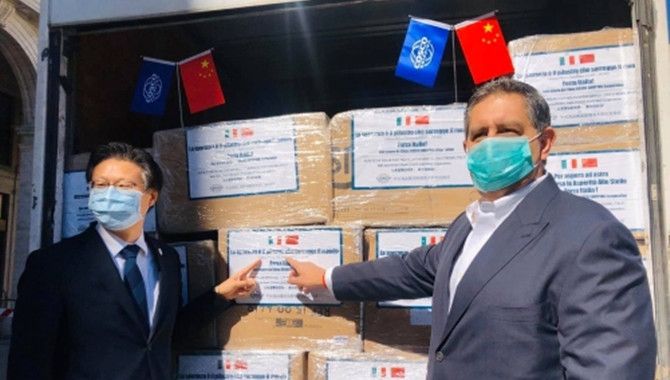 Medical Supply Donations from COSCO SHIPPING Create