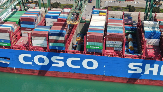 Tianjin Container Freight Index up 0.01%