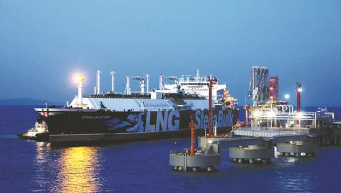 China's new subsea pipeline to boost LNG imports at