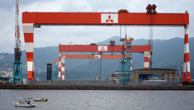 Mitsubishi Shipbuilding to Test World's First Marin