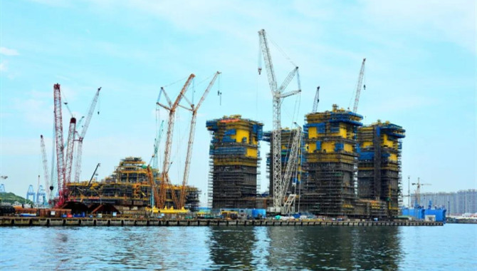 CNOOC completed construction of the world's largest