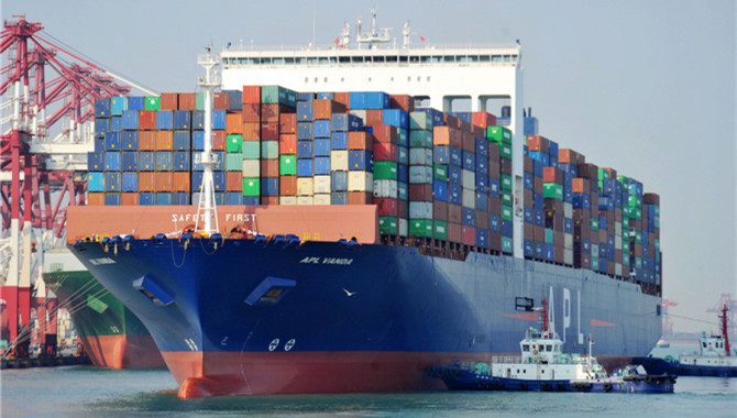 China's export container shipping index rises in Se