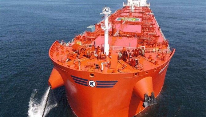 Klaveness' New Combination Carrier Delivered from N