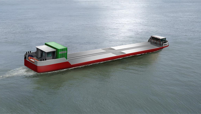 World's first hydrogen cargo vessel set for Paris d